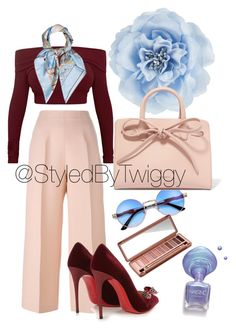 """StyledByTwiggy"" by styledbytwiggy on Polyvore featuring Fendi, Christian Louboutin, Hermès, Urban Decay, Monsoon and Mansur Gavriel"