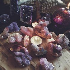 """65 Likes, 7 Comments - Haley (@sunraysandsage) on Instagram: """"Loving the energy in this cozy photo from @primalmontana dreaming of spirit quartz tonight…"""" #crystal #witch #pretty"""