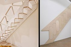 This Folding Staircase Is Perfect For Tiny Homes or Apartments With Lofts Folding Furniture, Lofts, Tiny Homes, Be Perfect, Apartments, Stairs, Home Decor, Loft Room, Loft