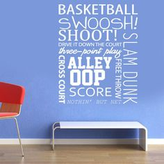 Wall Decals basketball quotes Wall Art by ModernWallDecal Basketball Bedroom, Basketball Is Life, Basketball Quotes, Basketball Drills, Basketball Shirts, Basketball Wall, Basketball Positions, Sport Quotes, Wall Art Quotes