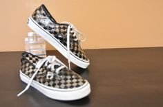 #vans #vanssneakers #clearshoes #checkerboardvans #coolkicks #ladyyesterday available at our Ebayshop www.stores.ebay.com/Lady-Yesterday-Consignment-Clothing