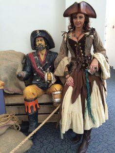 Lady Pepper, die Madame of Unfug - Kostum Damen Pirate Garb, Pirate Wench, Pirate Woman, Female Pirate Costume, Renaissance Fair Costume, Medieval Costume, Renaissance Clothing, Steampunk Pirate, Steampunk Costume