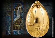 Harry Potter Noble Collection : Golden Egg Prop Replica NN7267 #authenticcollectible