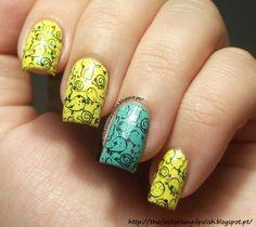 The Clockwise Nail Polish: Picture Polish Mardi Gras & Easter Manicure