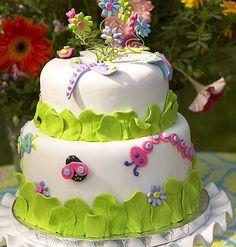 torta pasta di zucchero compleanno bimba - Cerca con Google