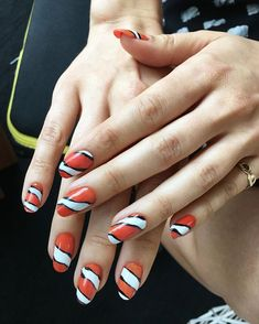 Creative ideas and care tips for gel nails summer 2019 - Nail Designs Gel Nails, Manicure, Butterfly Species, Nagellack Trends, Hawaiian Flowers, Rainbow Nails, How To Get Warm, Nagel Gel, Nail Trends