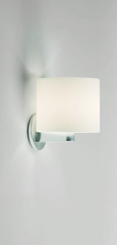 Washroom sconce option: Prandina CPL wall sconce available in various sizes