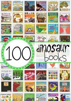 100 Dinosaur Books f
