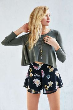 Kimchi Blue Cozy Swing Top - Urban Outfitters