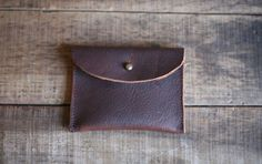 Elliot Wallet- Forestbound.  leather swatches  Our client's leather swatch wallet