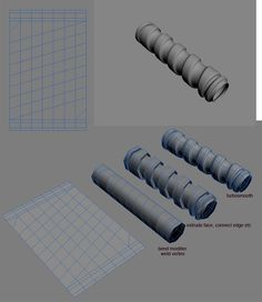 FAQ: How u model dem shapes? Hands-on mini-tuts for mechanical sub-d AKA ADD MORE GEO - Page 66 - Polycount Forum