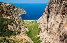 One of the best sea views in #Turkey is to Butterfly Valley in #Oludeniz!