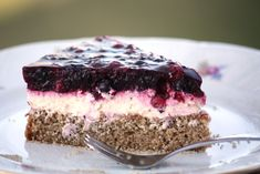 Smotanovo - ovocná torta s korpusom z bieleho maku - bez múky Tiramisu, Cheesecake, Food And Drink, Gluten Free, Sweets, Baking, Ethnic Recipes, Desserts, Cakes