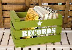 Cajas de fruta antiguas recuperadas para organizar tus cosas: shop.Boxco.es
