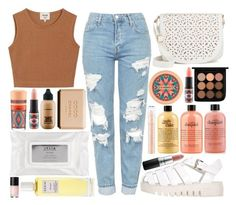 """""""Summer Vacation"""" by carmo-catarina ❤ liked on Polyvore featuring Samuji, Topshop, Jeffrey Campbell, Under One Sky, MAC Cosmetics, Stila, Chanel, philosophy and Rodin"""