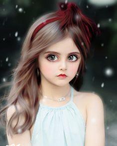 Pretty Dolls, Cute Dolls, Allu Arjun Images, Sword Art Online Kirito, Female Characters, Online Art, Concept Art, Conceptual Art