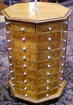 Revolving Nut and Bolt Cabinet,