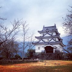 Uwajima castle, Shikoku island (Japan)