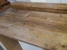 Reclaimed scaffold boards — Dove Furniture & Kitchens York