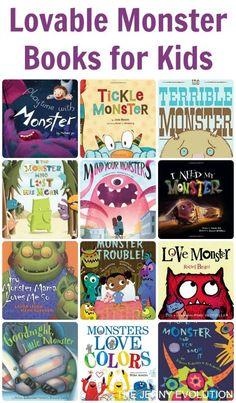 Lovable Monster Picture Books for Kids   The Jenny Evolution