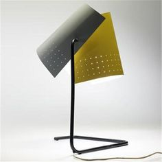 Lester Geis, #T-5-G Table Lamp for Heifetz Manufacturing Co., 1951.