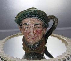 Vintage Toby Jug/Mug Royal Doulton Toby Jug Dickens Series 'Auld Mac' 1937 Great Value!