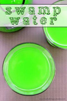 Swamp Water Halloween Drink. Get in the Halloween Spirit with this Swamp Water…