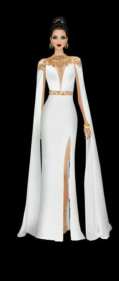 Covet Fashion, Fashion Beauty, Girl Fashion, Fashion Design, Dinner Gowns, Evening Dresses, Fashion Dress Up Games, Gala Dresses, Glamour