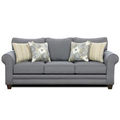 Fresh look -- love this sofa!
