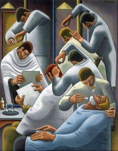 William Roberts, The Barber Shop, 1946.