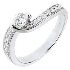 EDENLY  Engagement Ring Destiny - Summer Solstice - diamond 0.49 carats- 18…