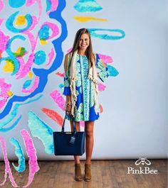 e4e23668eacb Make it SUNNY #lillypulitzer #resort365 #pinkbee #yeahthatgreenville Lilly  Pulitzer Dress International Airport