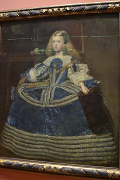 La Infanta Margarita in blue dress: Diego Velazquez: By kind permission of Kunsthistorisches Museum Vienna. Infanta Margarita, Grand Palais Paris, Kunsthistorisches Museum Wien, Diego Velazquez, Art Occidental, Google Art Project, Holy Roman Empire, Baroque Art, Spanish Artists