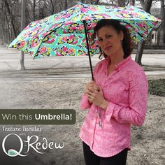 #TextureTuesday is here and so are April showers... So we want to know - Are you someone who dances in the rain or do you run for cover? Heidi is one to grab her umbrella, but dance anyway.  Tell us which you are for a chance to WIN this fun spring umbrella!  Don't forget to share and like to increase your chances of winning. Winner will be announced tomorrow, 4/9.  #QRedew #Haircare #Contest #Giveaway