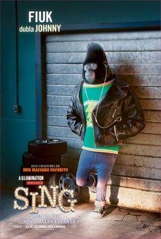 Fiuk dubla Johnny em Sing - Quem Canta Seus Males Espanta, 22 de dezembro nos cinemas!