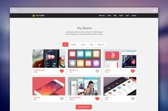 Explore over Bootstrap themes and templates for use in all kinds of websites. These sets include UI kits, themes with Page Builder, and responsive layouts for single and multipage sites. Ui Kit, First Page, My Works, Layout, King, Templates, Flats, Marketing, Studio