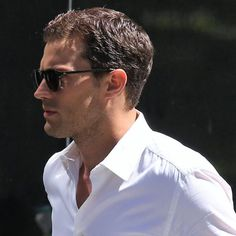 These Photos of Jamie Dornan on the Set of Fifty Shades Darker Will Quench Your Christian Grey Thirst Fifty Shades Darker, Fifty Shades Of Grey, Christian Grey, Jamie Dornan, Mr Grey, Fifty Shades Trilogy, Hollywood, Irish Men, Male Beauty