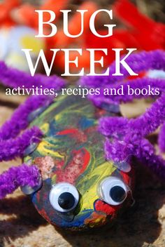 All about Bugs! Great crafts, songs and activities for kids!