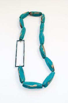 Cristina Zani - My Seoul turquoise necklace
