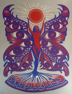 capricorn art psychedelic | Psychedelic Art Nouveau
