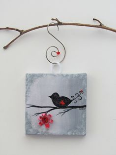 119 best Painting--mini canvases images on Pinterest | Mini canvas ...