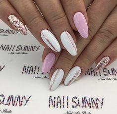 "- ""Gelnaildesignsforsummer"" - -- - ""Gelnaildesignsforsummer"" - - nail art Девочки, не забывайте ставить лайк💋 и подписаться))) Самые красивые идеи маникюра💅 🌺Маникюр… 23 beautiful prom nails for your big night Lo 😻 what? Aycrlic Nails, Hot Nails, Pink Nails, Nail Manicure, Color For Nails, Nail Colors, Stylish Nails, Trendy Nails, Summer Nails 2018"