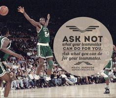www.asportinglife.co #magicjohnson #basketball #sportsquotes