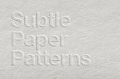 A set of paper texture patterns background with 6 paper cardboard tile patterns to smoothen any project of yours....