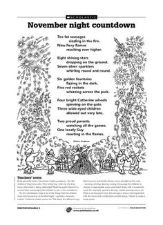 November night countdown A fun poem and Bonfire Night activity. Firework Poems, Fireworks Quotes, Pink Fireworks, Fireworks Background, Fireworks Design, Wedding Fireworks, 4th Of July Fireworks, Bonfire Night Activities, Bonfire Night Crafts