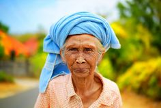 The Old Lady from Uluwatu Bali