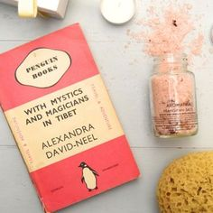 Take a special break with a classic penguin and these beautiful Aromatika Frangipani bath salts! Good for the mind and great for the soul!  #GiftIdeas #SpecialGifts #Giftsforher #Vintage #VintageGifts #LuxuryGifts #GiftBox #PenguinBooks #Books #Aromatika #BathSalts #Beauty #Bathsets #BeautyGift #BeautyIdeas