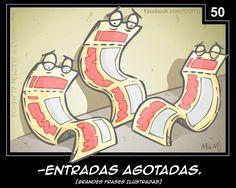 Grandes Frases Ilustradas es el proyecto del dibujante Martín Almeida en el cuál con su imaginación hace este tipo de viñetas describiendo frases que usamos o escuchamos de manera cotidiana. Espero les parezcan tan divertidas como a mi y los hagan reír de la misma manera. También puedes ver: 18 Frases explicadas de manera literal […]