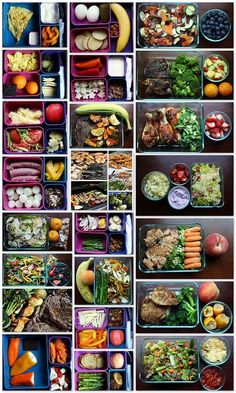 Here is a great variety of healthy drop off meals that you can prepare. It's also a great way to plan a weeks meal.