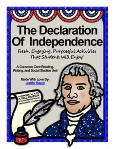 Do you want to bring the Declaration of Independence to life for your students? This is the perfect unit for you! My students enjoyed the activities in this unit and I was thrilled to see their love for history grow! This unit will help you take the Declaration of Independence off the textbook page and make it much more relevant to your students.